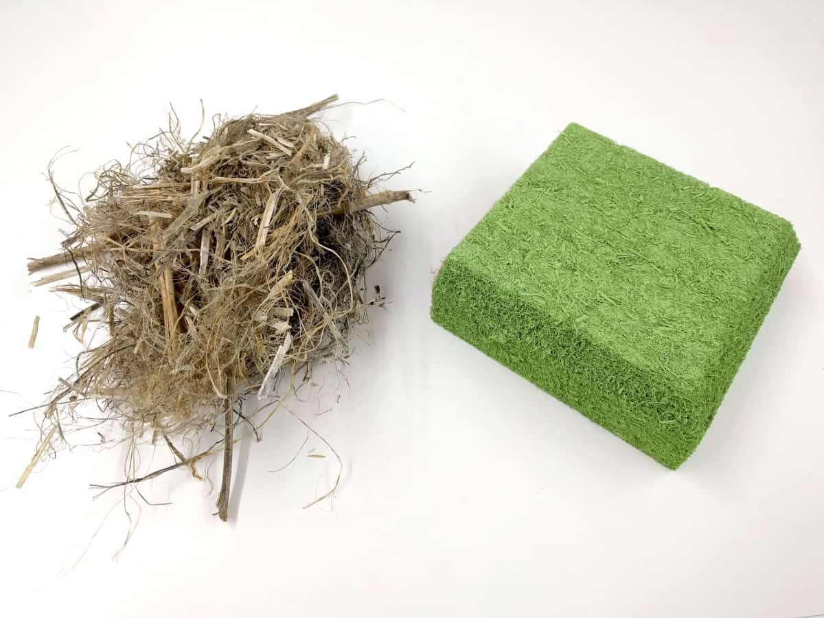 Schon erstaunlich wie aus diesen Naturfasern unsere SilentFiber Akustikplatten entstehen