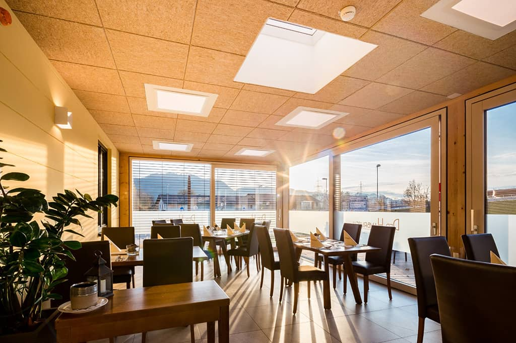 Restaurant Der Hambrusch: Beste Raumakustik in der Gastronomie