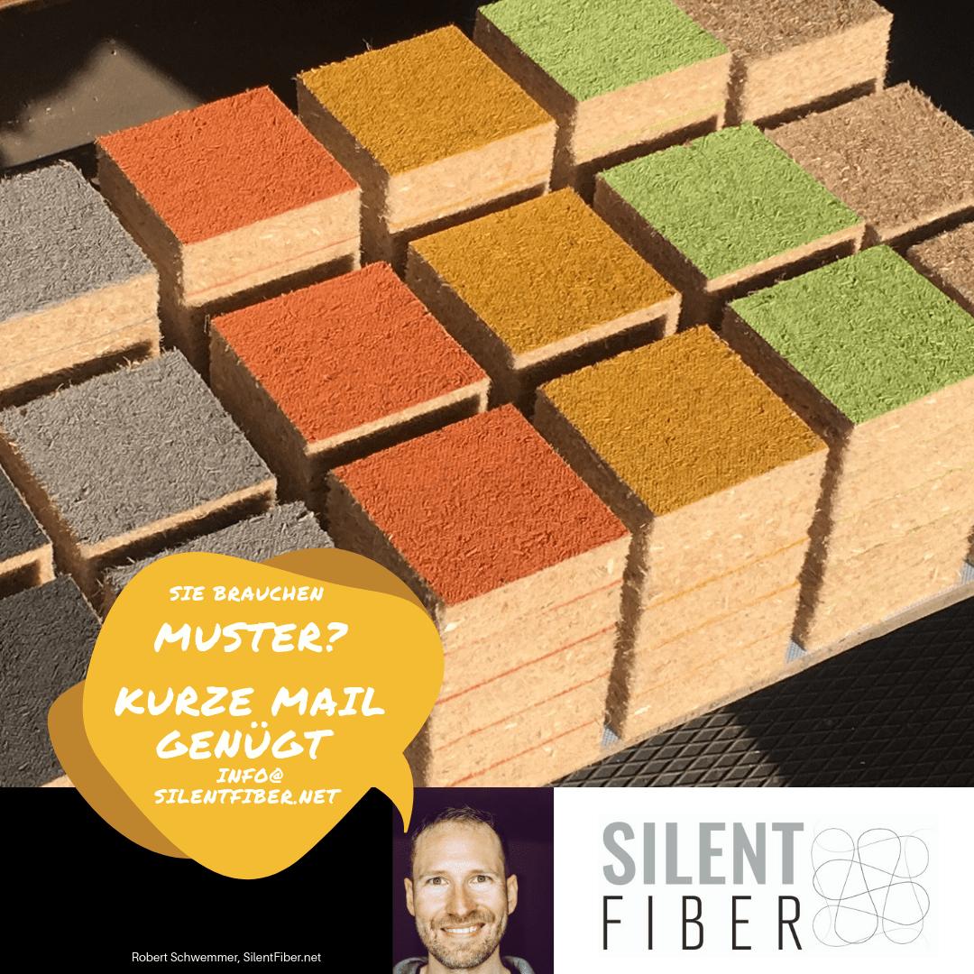 Muster SilentFiber Akustikplatten