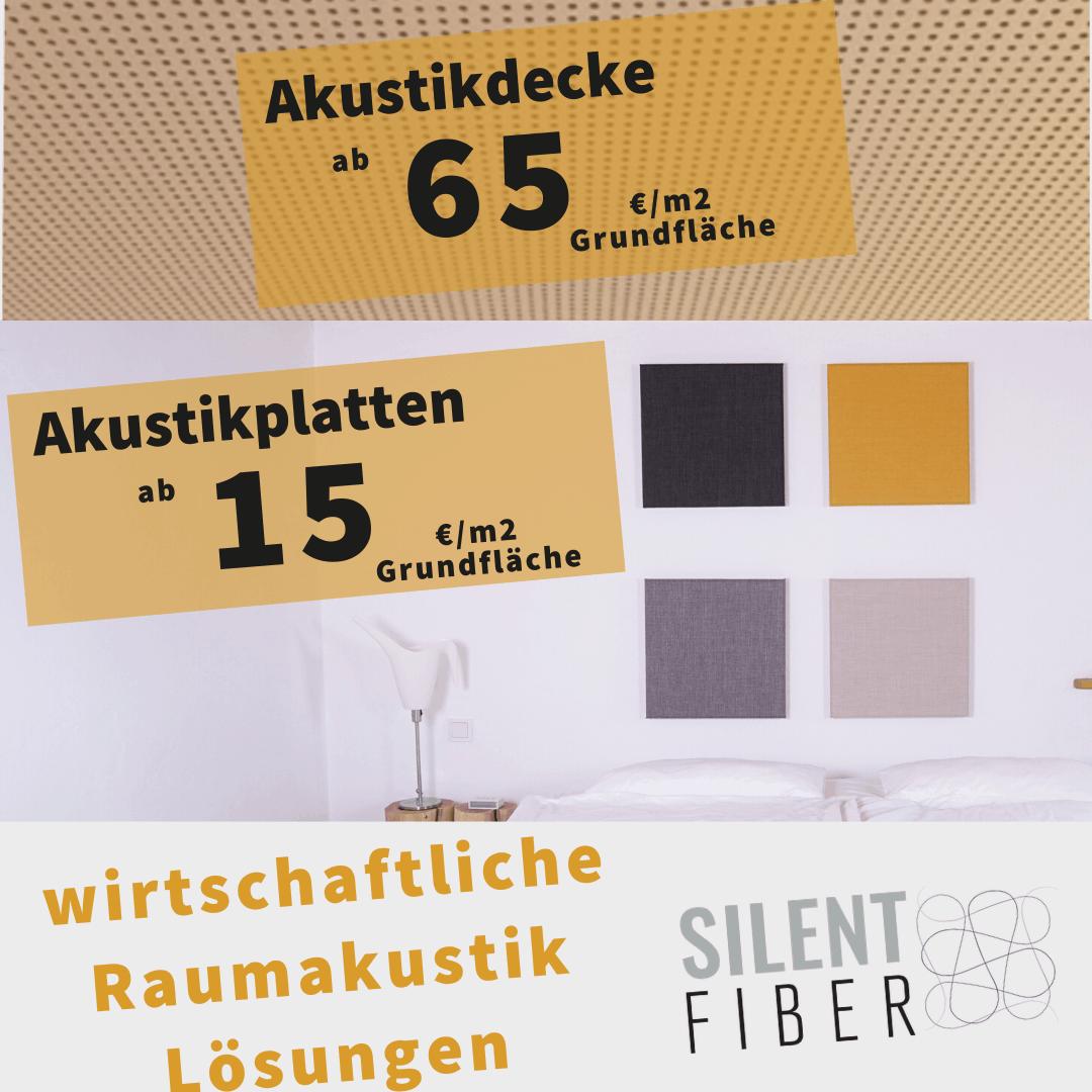 Akustikplatten Pries pro m2 Quadratmeter Akustikdecke