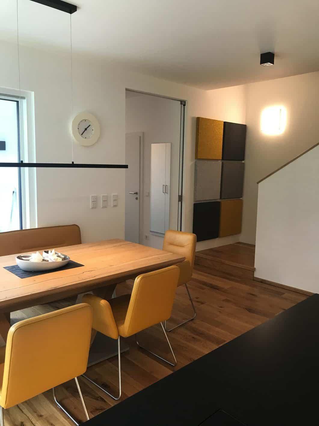 Wohnküche Schallschutzplatten