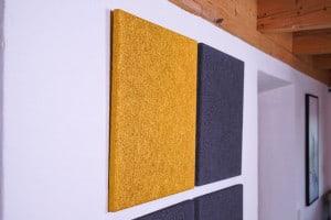 HOLZ Akustikplatte für Wand und Decke