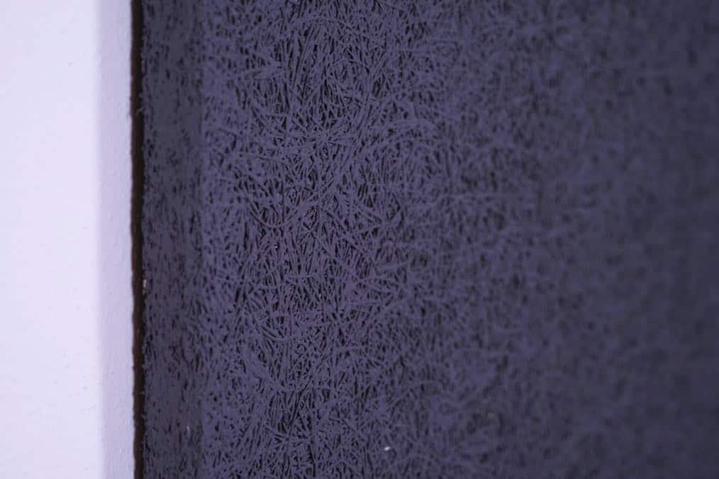 Dunkelgrau Heradesign Superfine Akustikplatte SilentFiber Wand