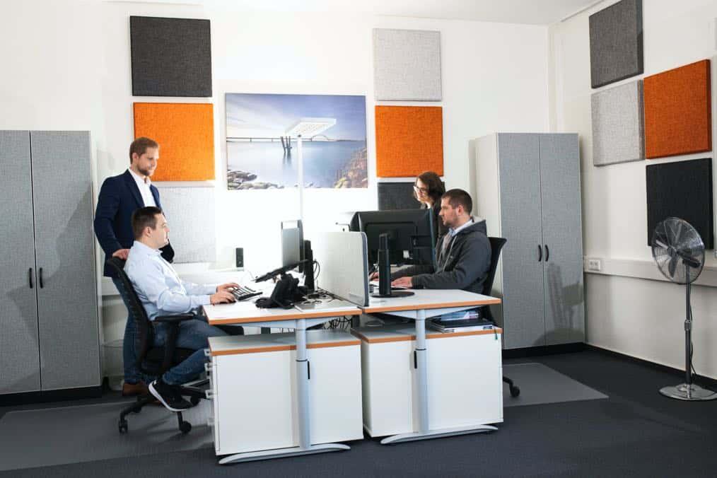 Raumakustik im IT Büro