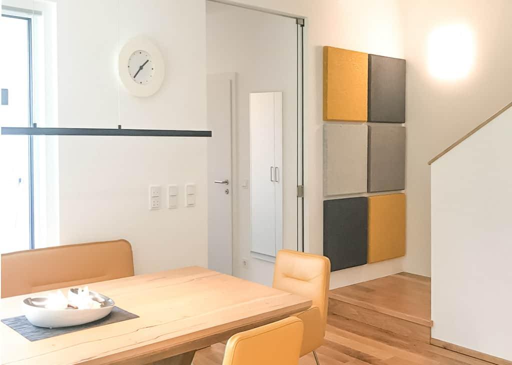 Akustikplatten Wohnküche-2