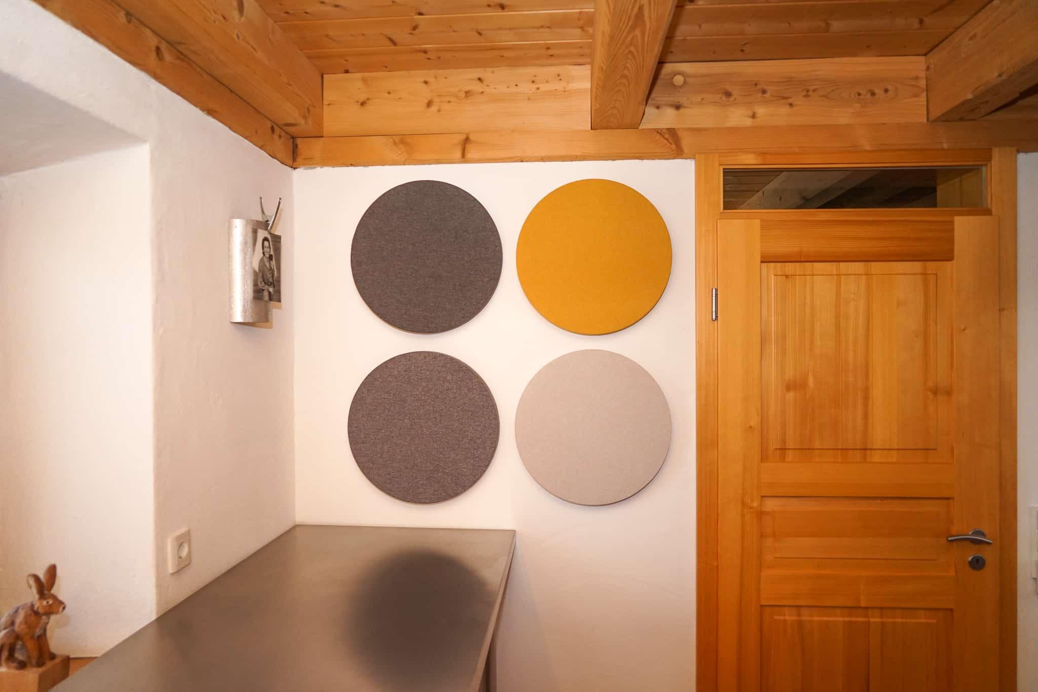 Akustikplatte rund