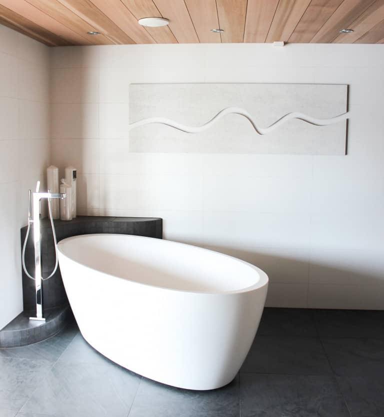 Akustikplatten im Badezimmer