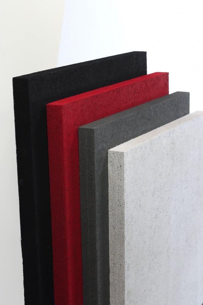 TORF Akustikplatte Farben stehend