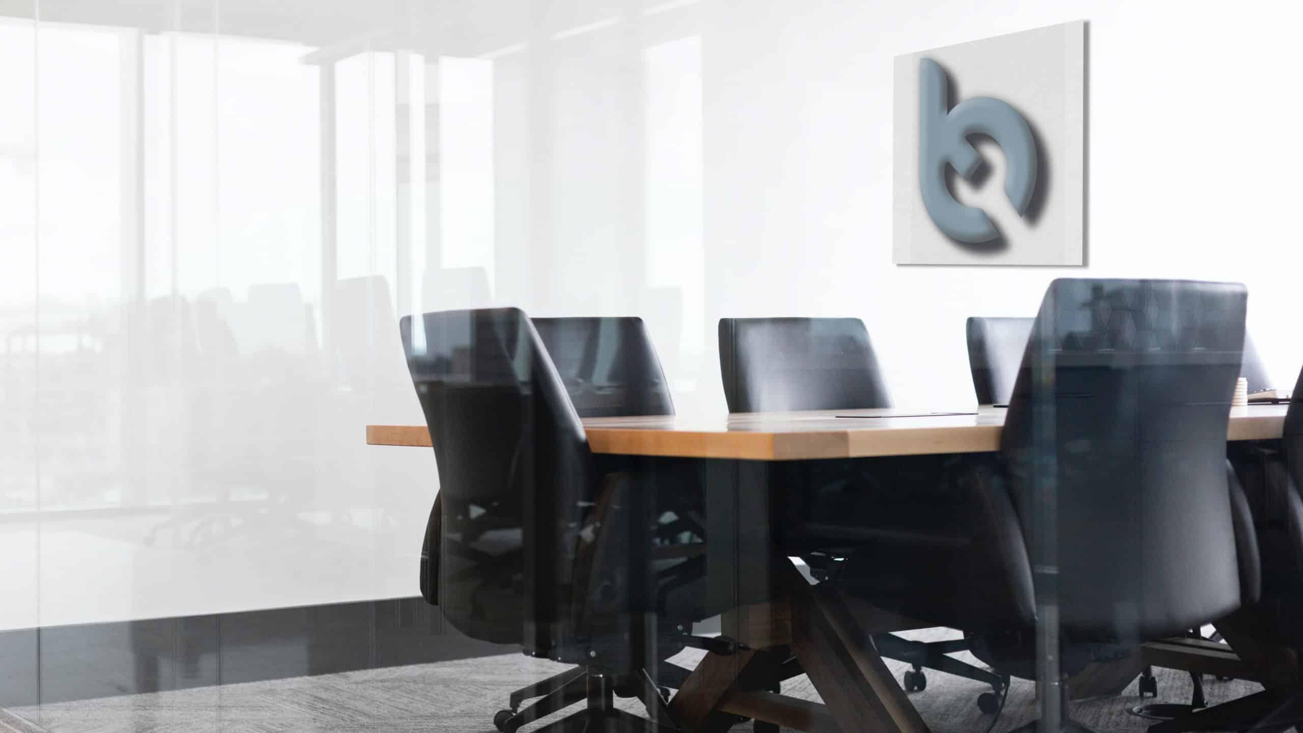 Akustikplatte Büro bedruckt