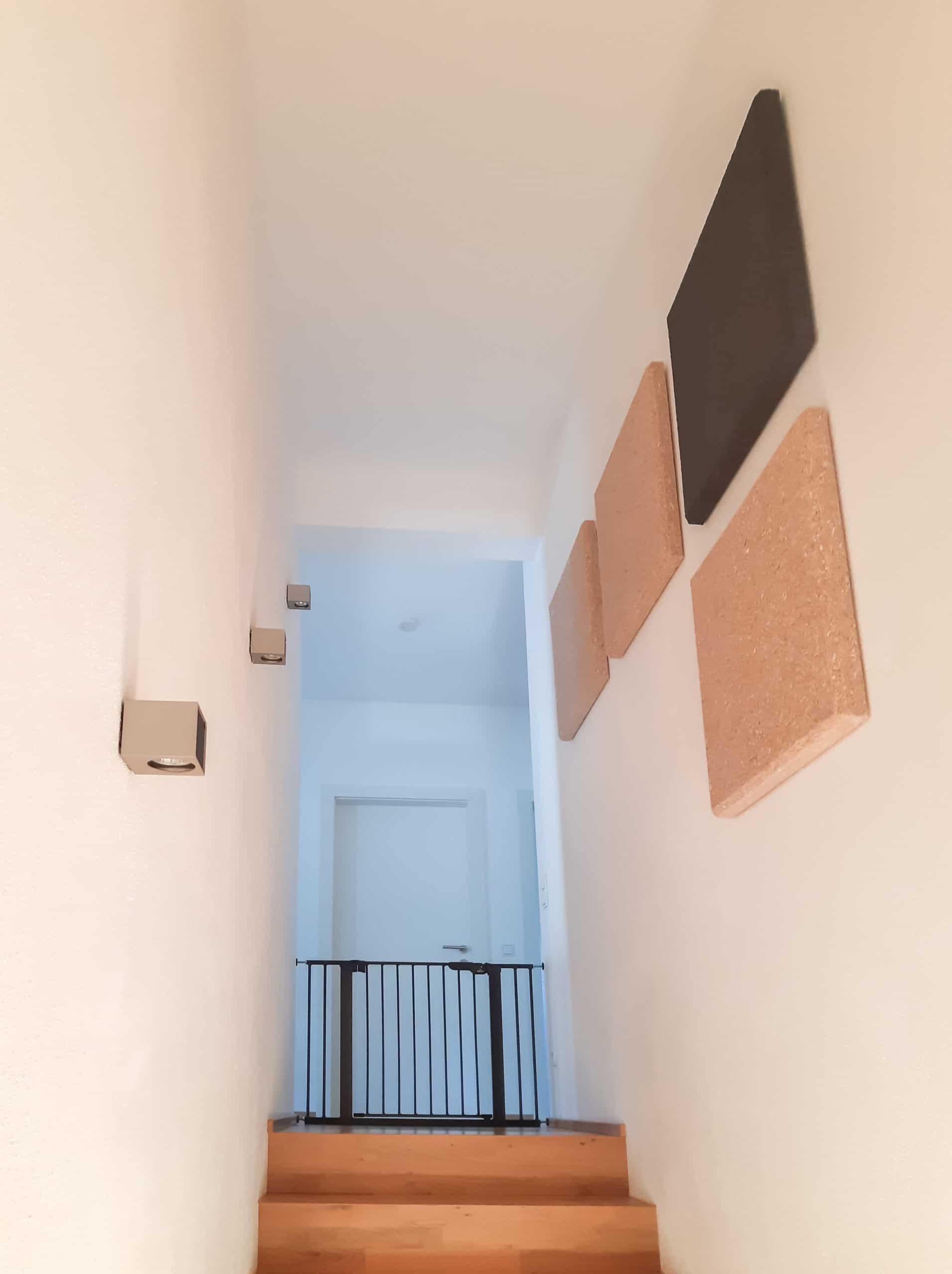 Akustik im Treppenhaus verbessern