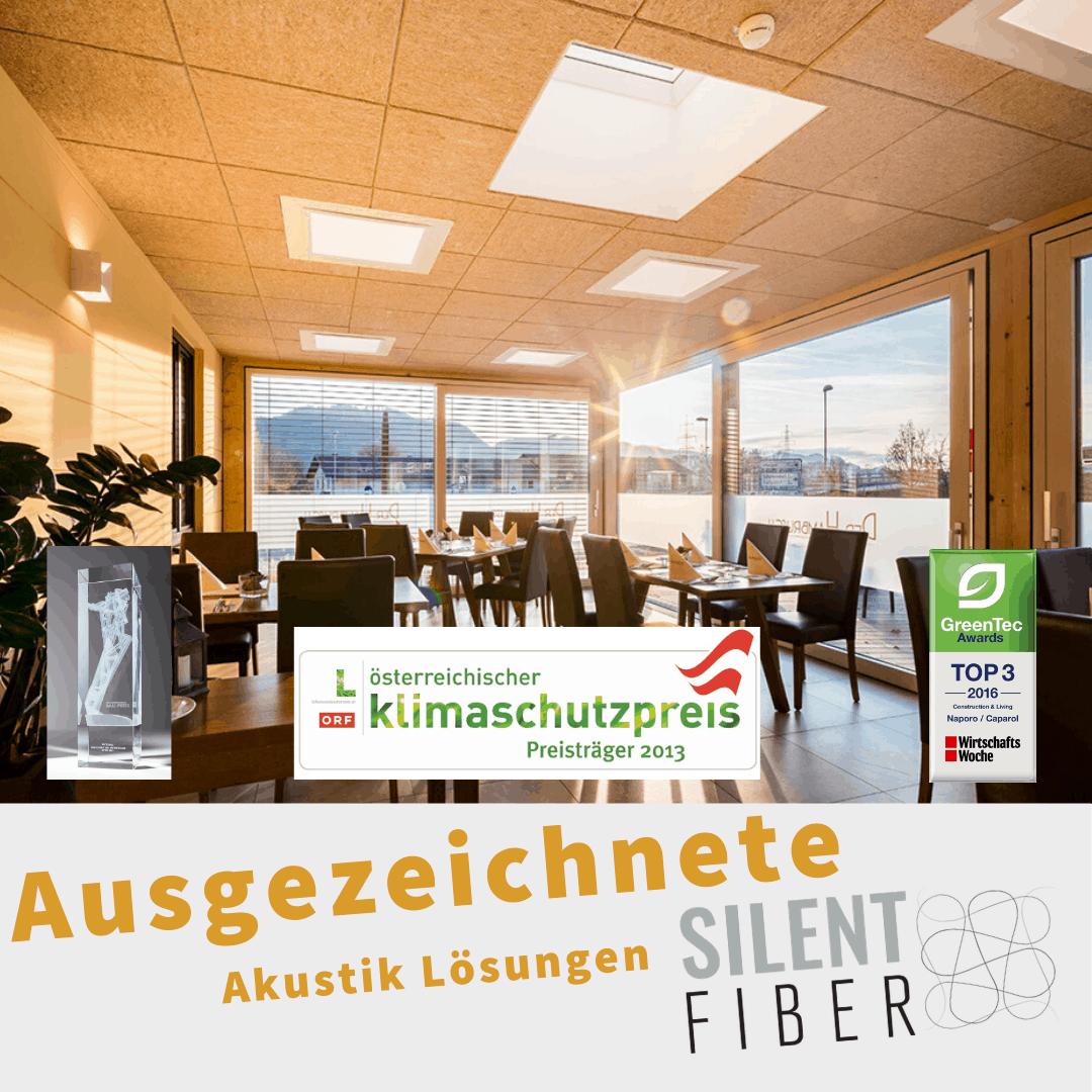 Read more about the article Ausgezeichnete Akustik-Lösungen