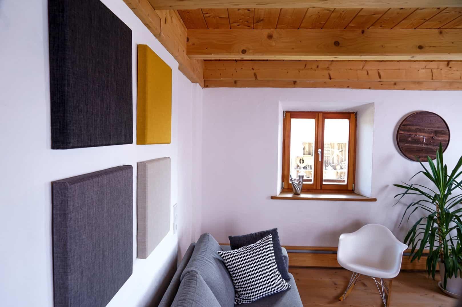 Akustikplatte Wohnzimmer