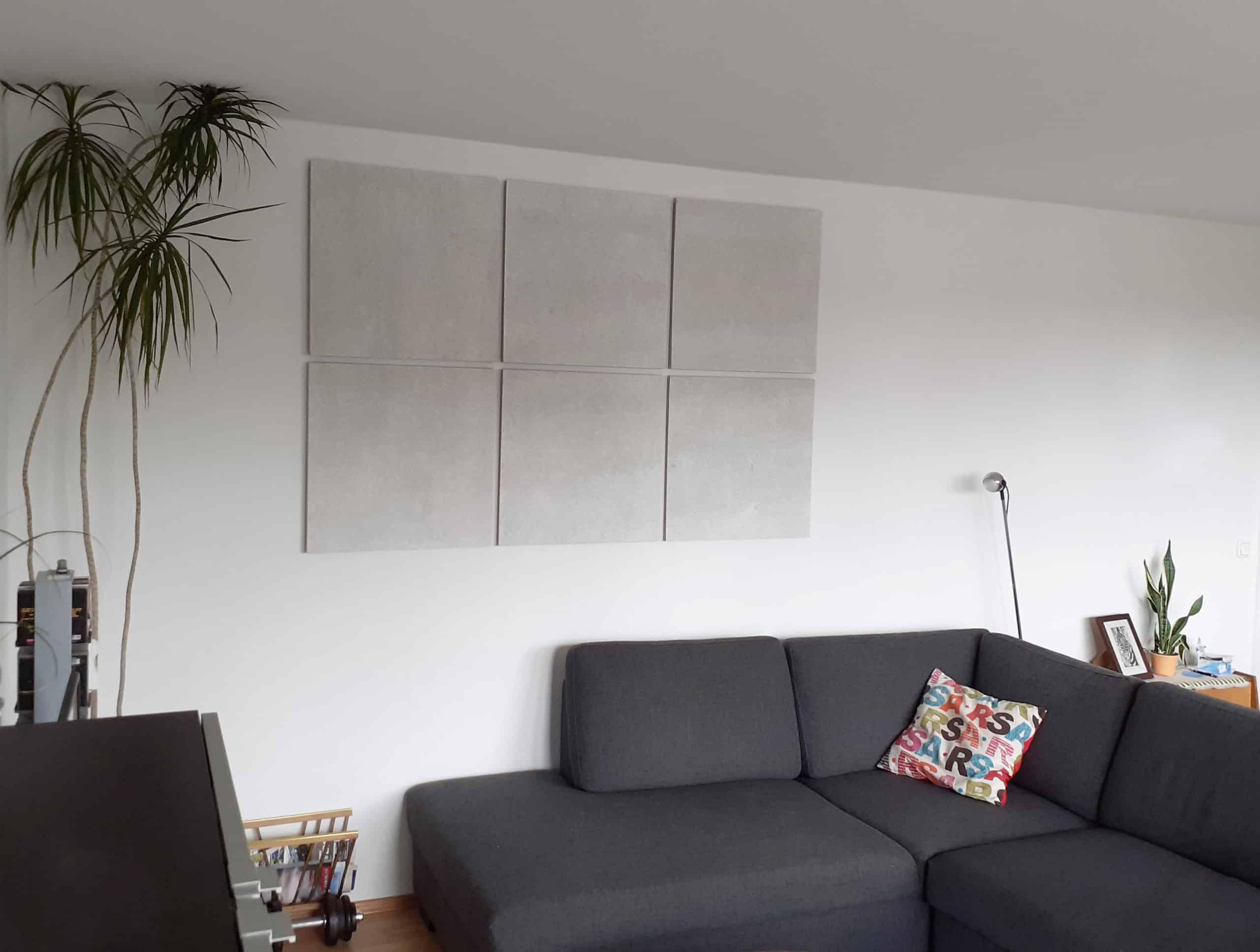 Keine Vorhänge – kein Teppich und trotzdem eine gute Raumakustik