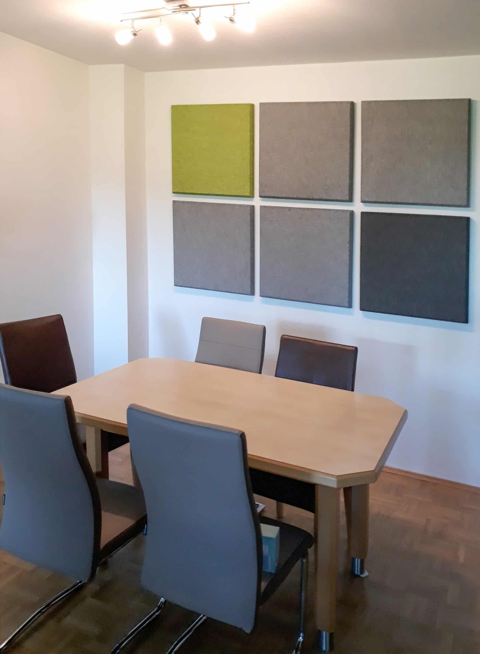 Akustik offene Wohnküche verbessern Treppenhaus