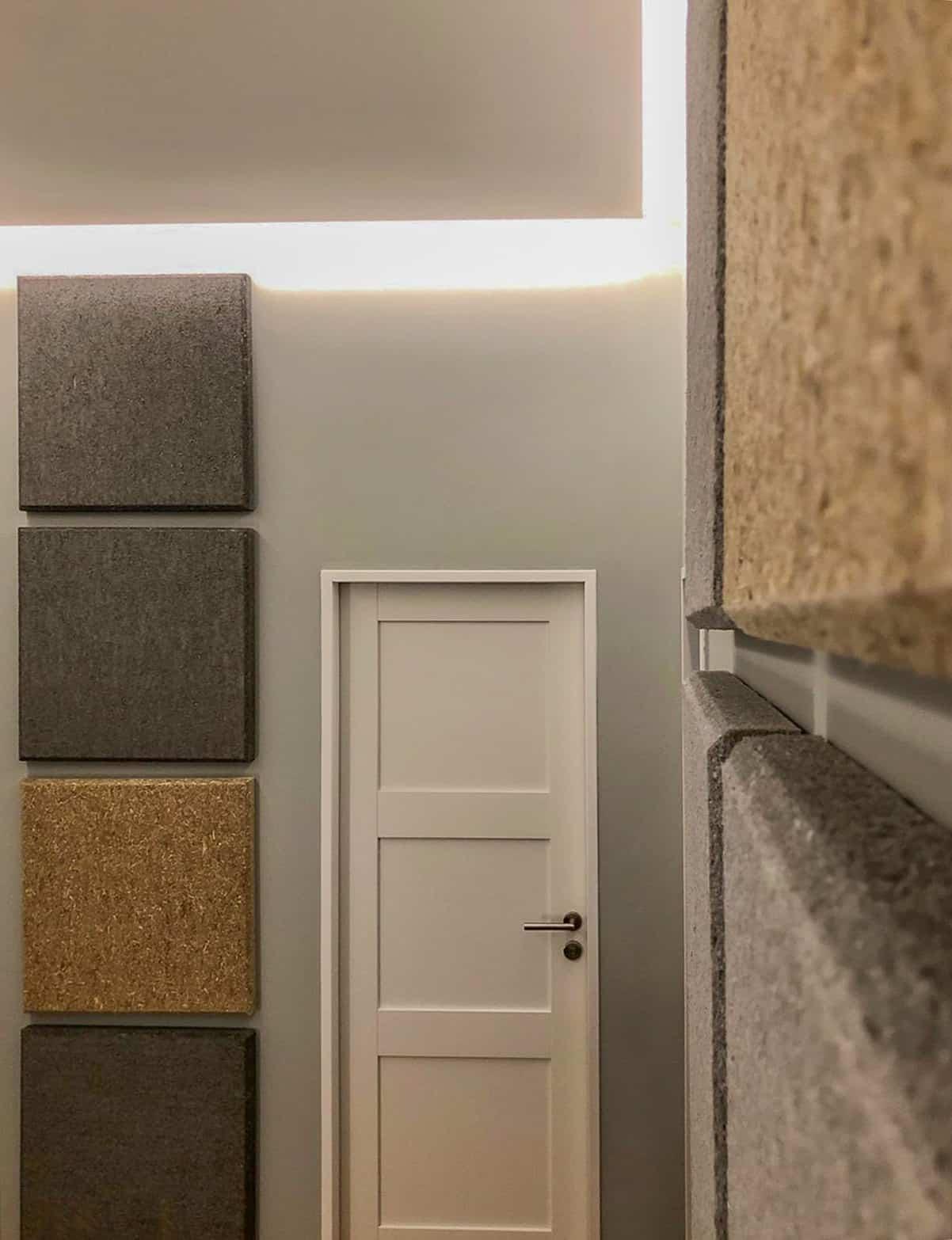 Verbesserung der Akustik im Treppnehaus