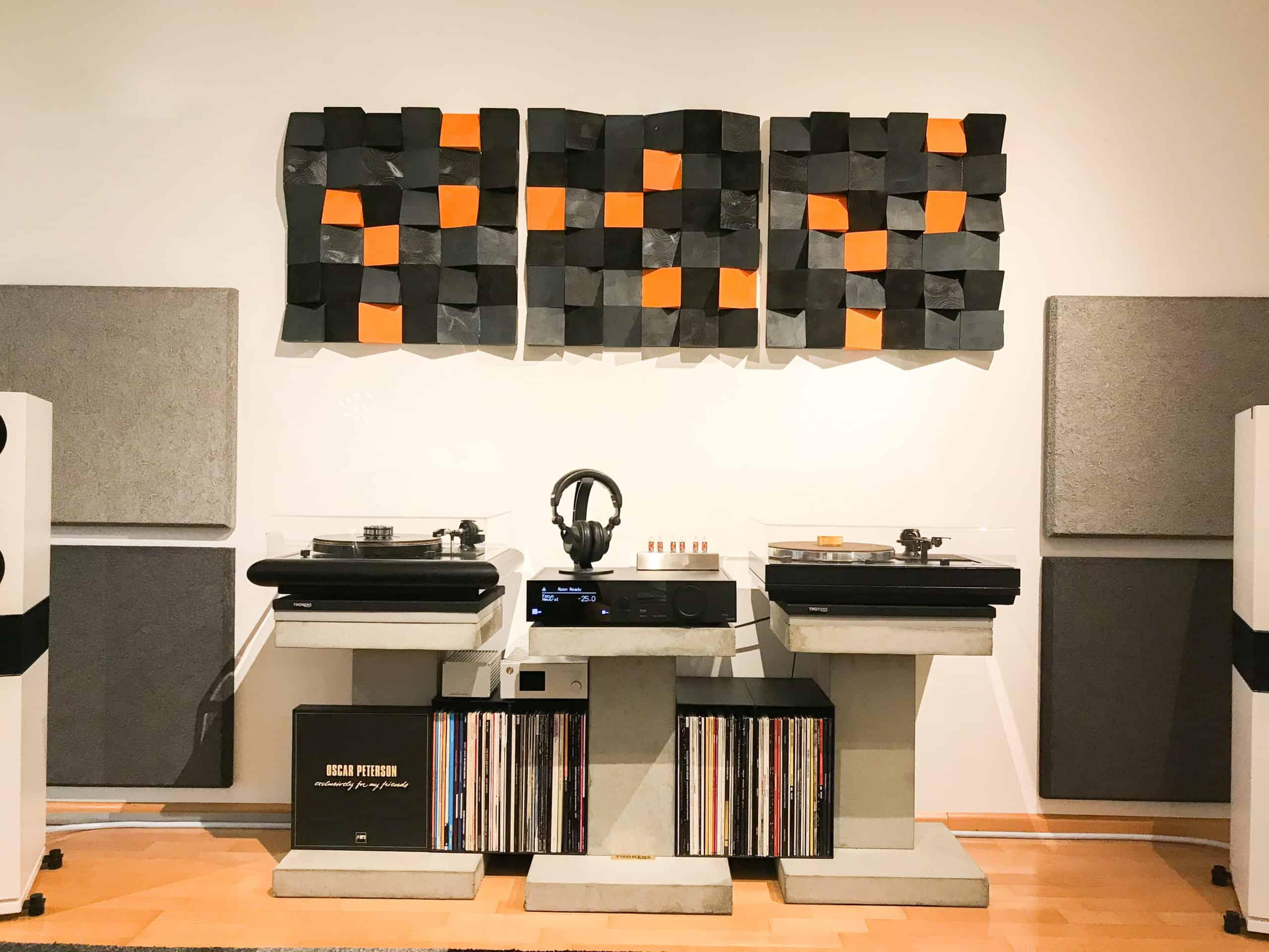 HIFI Akustik Raumakustik quadrat