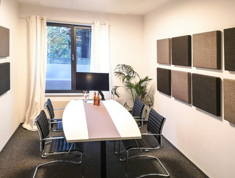 Ruhe im Besprechungsraum