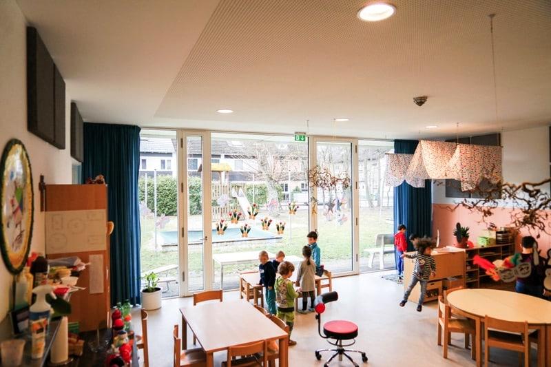 KiTa Kindergarten Lärm reduzieren
