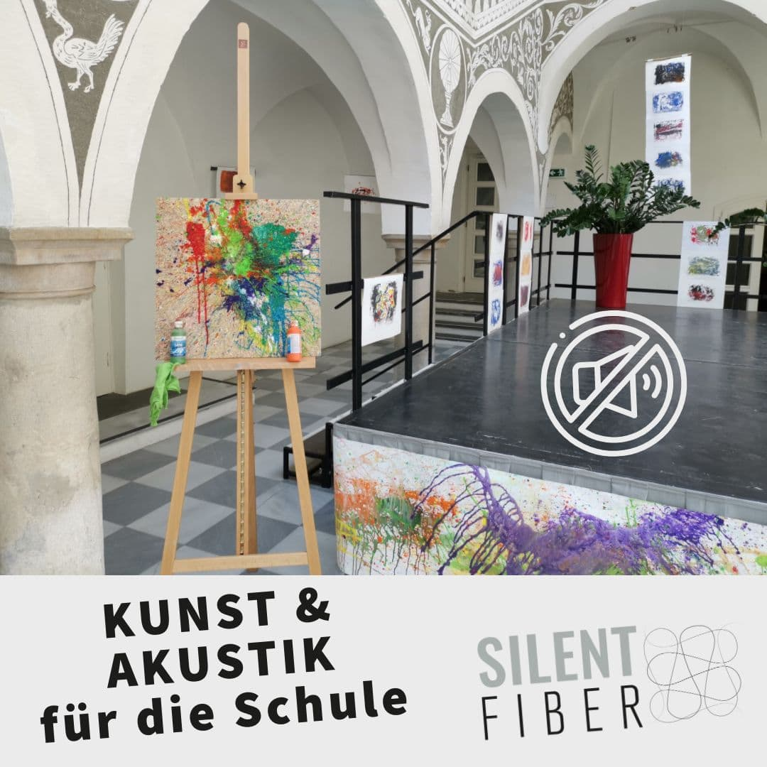 Read more about the article Kunst & Akustik für die Schule: Kunstprojekt der Volksschule St. Veit