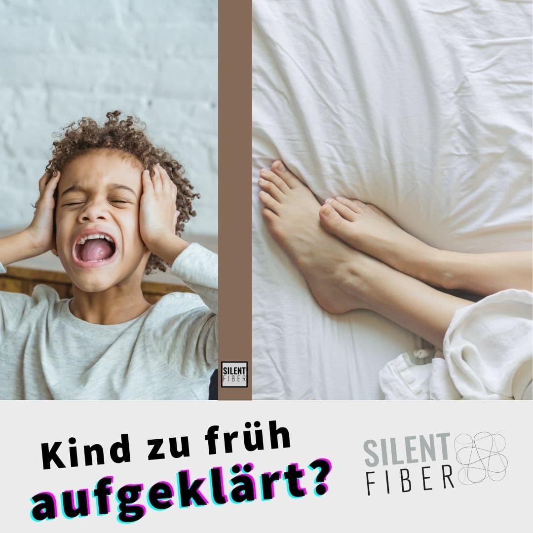Read more about the article Kind zu früh aufgeklärt | SilentFiber Schallschutzplatte